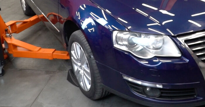 Changing Springs on VW Passat Variant (3C5) 2.0 FSI 2008 by yourself