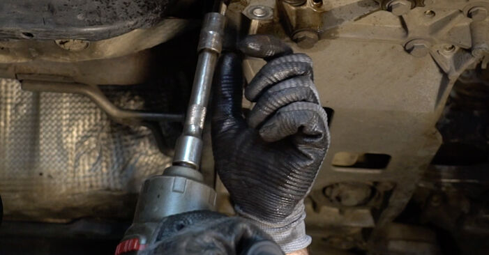 How to change Control Arm on VW Passat Variant (3C5) 2005 - tips and tricks