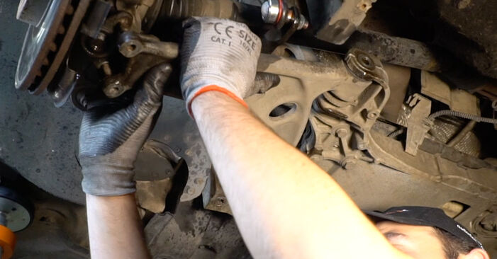 How to change Control Arm on Passat 3C 2005 - free PDF and video manuals