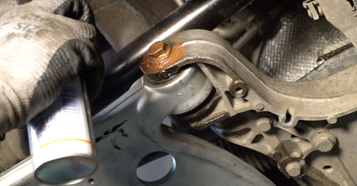 DIY replacement of Control Arm on VW Passat Variant (3C5) 1.9 TDI 2007 is not an issue anymore with our step-by-step tutorial