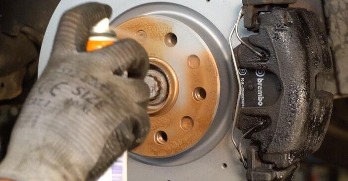 Comment retirer VW PASSAT 2.0 TDI 4motion 2009 Amortisseurs - instructions en ligne faciles à suivre