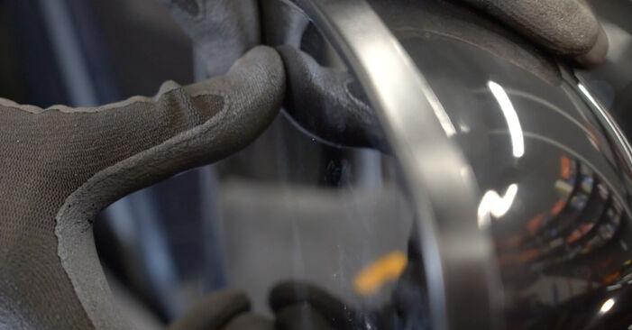 Hoe lang duurt het wisselen van Spiegelglas Nissan Qashqai j10 2006 – informatieve pdf-gebruiksaanwijzing