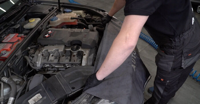 How to replace AUDI A4 Saloon (8EC, B7) 2.0 TDI 16V 2005 Shock Absorber - step-by-step manuals and video guides