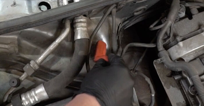 How to remove AUDI A4 2.0 2008 Shock Absorber - online easy-to-follow instructions