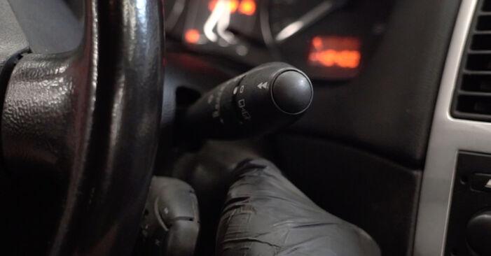 Austauschen Anleitung Stoßdämpfer am Peugeot 307 SW 2010 1.6 HDI 110 selbst