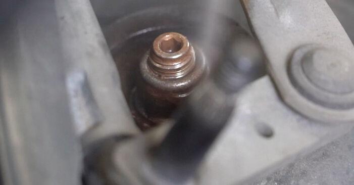 Kiek užtrunka keitimas: Peugeot 307 SW 2008 Amortizatorius - informatyvi PDF instrukcija