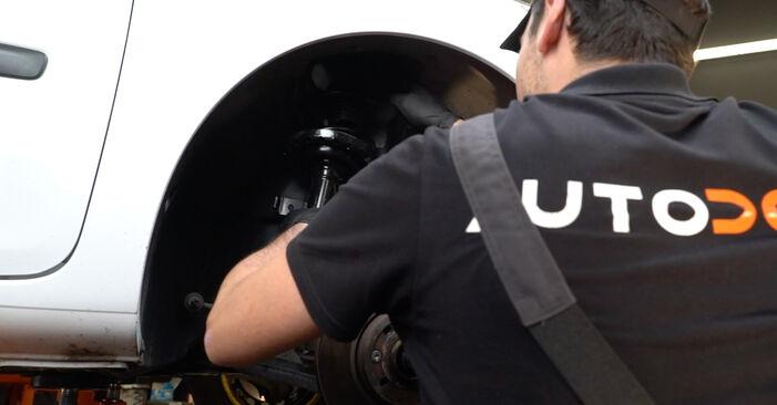 Comment changer Amortisseurs sur Renault Clio 3 2005 - Manuels PDF et vidéo gratuits