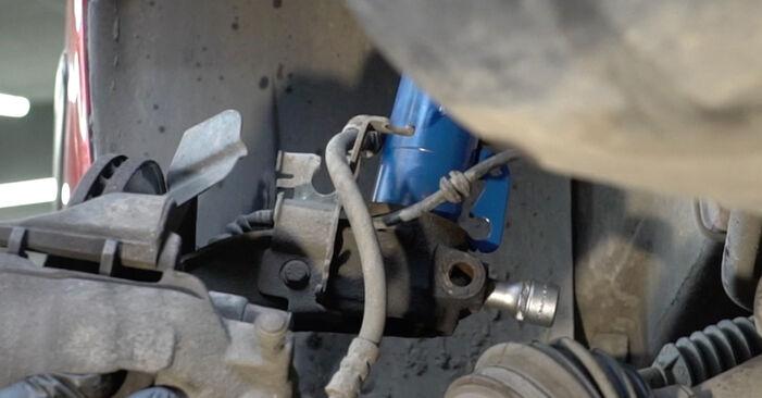 Stoßdämpfer Seat Ibiza 6l1 1.2 2004 wechseln: Kostenlose Reparaturhandbücher