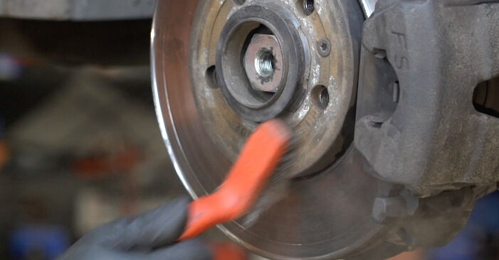 Stoßdämpfer beim SEAT IBIZA 1.4 16V 2009 selber erneuern - DIY-Manual