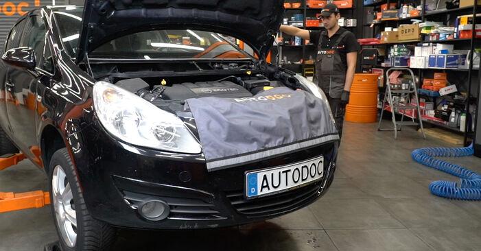 Come cambiare Ammortizzatori su OPEL Corsa D Hatchback (S07) 2009 - suggerimenti e consigli