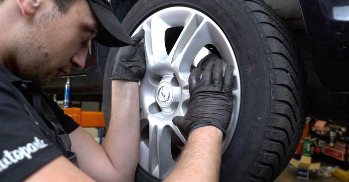 Come sostituire OPEL Corsa D Hatchback (S07) 1.3 CDTI (L08, L68) 2007 Ammortizzatori - manuali passo passo e video guide