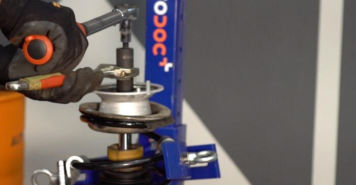 Wie BMW 3 SERIES 323Ci 2.5 2002 Stoßdämpfer ausbauen - Einfach zu verstehende Anleitungen online