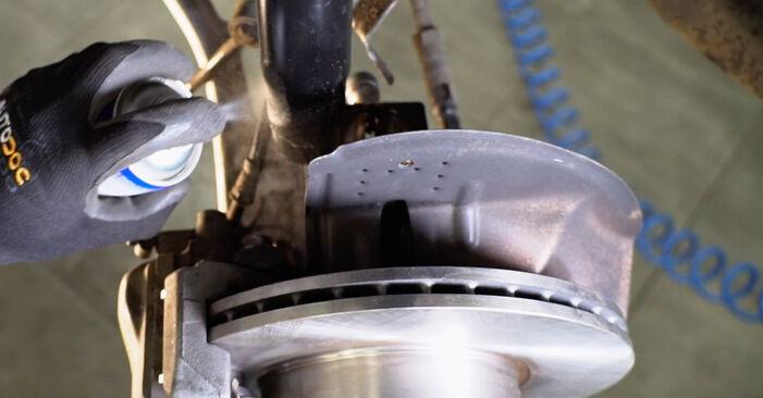 Austauschen Anleitung Stoßdämpfer am BMW e46 Cabrio 2000 330Ci 3.0 selbst
