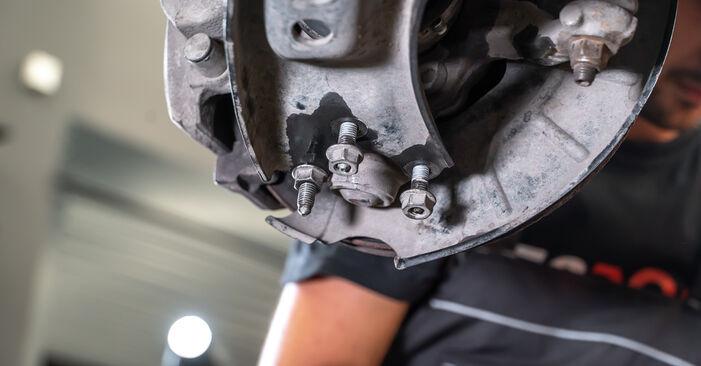 Jak odstranit VW TOURAN 1.2 TSI 2014 Tlumic perovani - online jednoduché instrukce