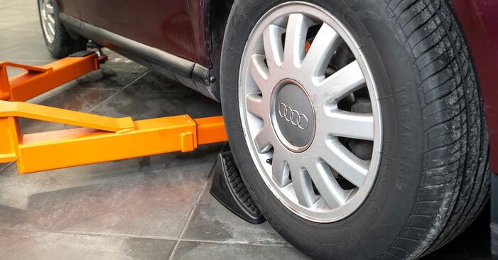 Wie Stoßdämpfer Audi A3 8l1 1.9 TDI 1996 tauschen - Kostenlose PDF- und Videoanleitungen