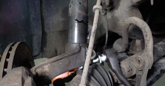 Audi A3 8l1 1.8 T 1998 Stoßdämpfer wechseln: Kostenfreie Reparaturwegleitungen