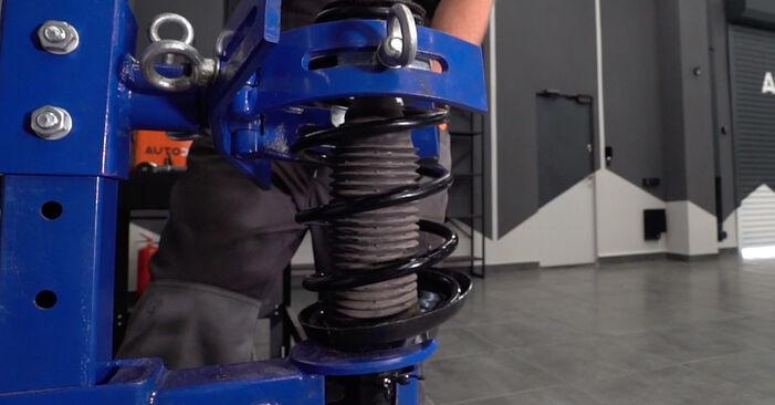 Wie man AUDI A3 1.8 2000 Stoßdämpfer wechselt – Leicht verständliche Wegleitungen online