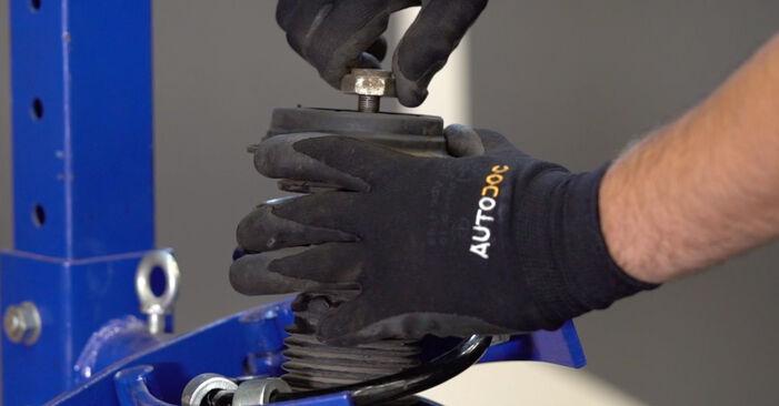 Stoßdämpfer Abarth 595 1.4 (312.AXF11) 2010 wechseln: Kostenlose Reparaturhandbücher