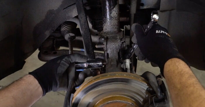 Changing of Shock Absorber on Opel Astra g f48 2006 won't be an issue if you follow this illustrated step-by-step guide
