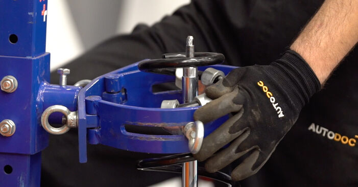 OPEL ASTRA 1.6 16V (F08, F48) Shock Absorber replacement: online guides and video tutorials