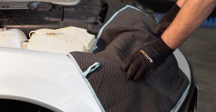 Innenraumfilter BMW 3 Touring (E46) 330d 2.9 2000 wechseln: Kostenlose Reparaturhandbücher