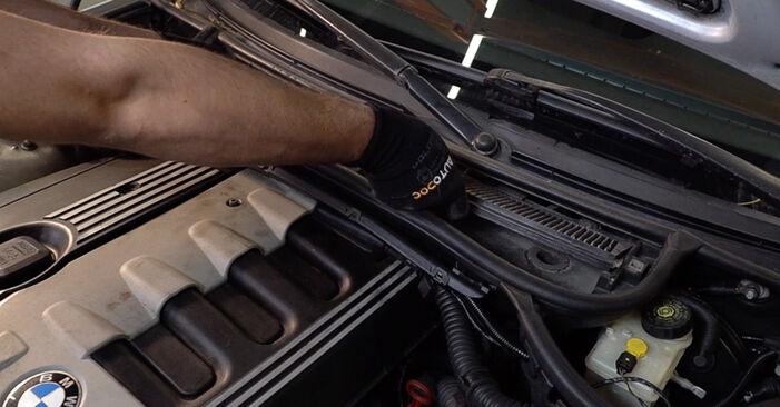 Wie BMW 3 SERIES 330d 3.0 2002 Innenraumfilter ausbauen - Einfach zu verstehende Anleitungen online