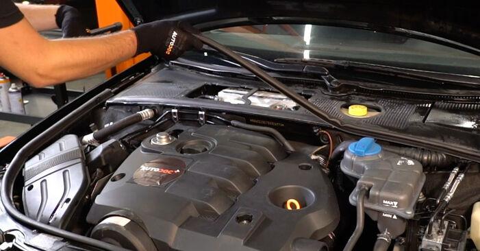 Audi A4 B6 Avant 2.5 TDI quattro 2002 Oro filtras, keleivio vieta keitimas: nemokamos remonto instrukcijos