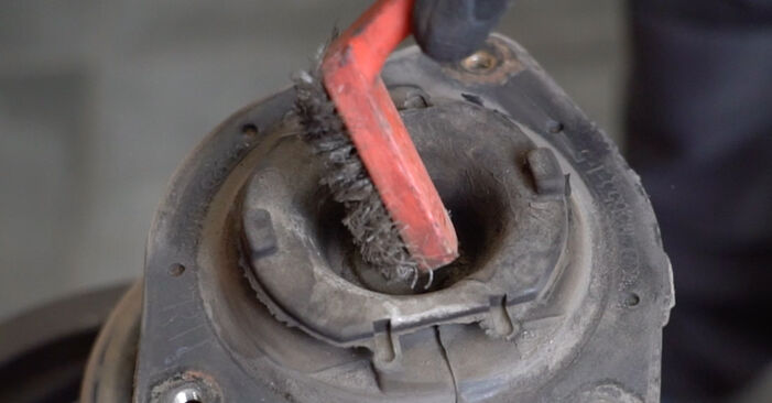 Schritt-für-Schritt-Anleitung zum selbstständigen Wechsel von Nissan Qashqai j10 2011 1.6 dCi Stoßdämpfer