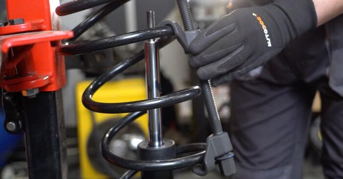 Wie schwer ist es, selbst zu reparieren: Stoßdämpfer Nissan Qashqai j10 2.0 Allrad 2012 Tausch - Downloaden Sie sich illustrierte Anleitungen