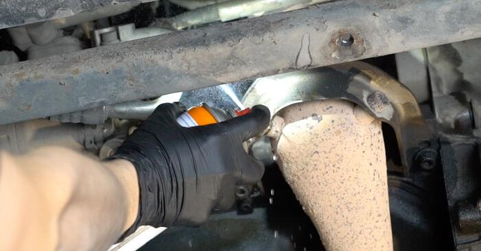 Cambio Filtro de Aceite en Seat Ibiza 6l1 2002 no será un problema si sigue esta guía ilustrada paso a paso