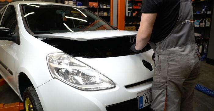 Wie Ölfilter Renault Clio 3 1.5 dCi 2005 tauschen - Kostenlose PDF- und Videoanleitungen