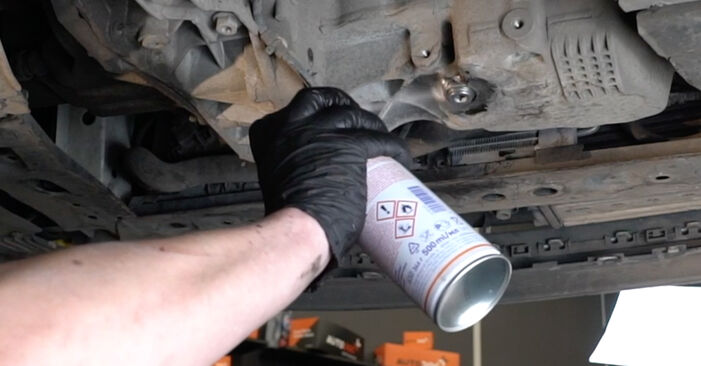 Wie RENAULT CLIO 1.2 16V Hi-Flex 2009 Ölfilter ausbauen - Einfach zu verstehende Anleitungen online