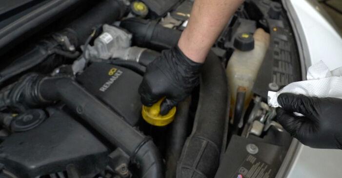 Austauschen Anleitung Ölfilter am Renault Clio 3 2005 1.5 dCi selbst