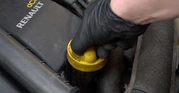 Ölfilter Renault Clio 3 1.4 16V 2007 wechseln: Kostenlose Reparaturhandbücher