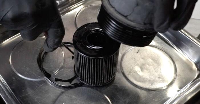 307 SW (3H) 2.0 HDi 135 2011 1.6 16V Ölfilter - Handbuch zum Wechsel und der Reparatur eigenständig
