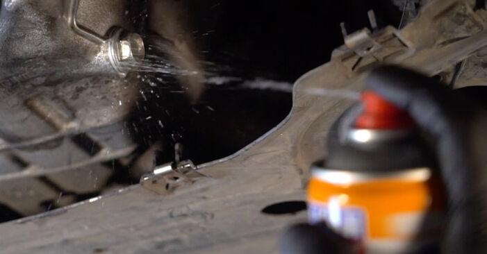 Wie Ölfilter HONDA INSIGHT (ZE_) 1.3 Hybrid (ZE2) 2010 austauschen - Schrittweise Handbücher und Videoanleitungen