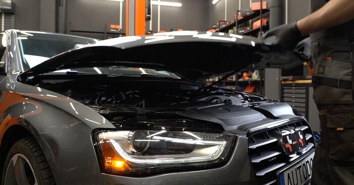Byt Luftfilter på AUDI A4 Sedan (8K2, B8) 3.0 TDI quattro 2010 själv