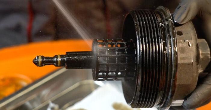 Schritt-für-Schritt-Tutorial zum eigenständigen Austausch von BMW E39 1994 525tds 2.5 Ölfilter