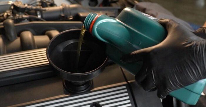 BMW 5 SERIES 540i 4.4 Ölfilter austauschen: Handbücher und Video-Anleitungen online