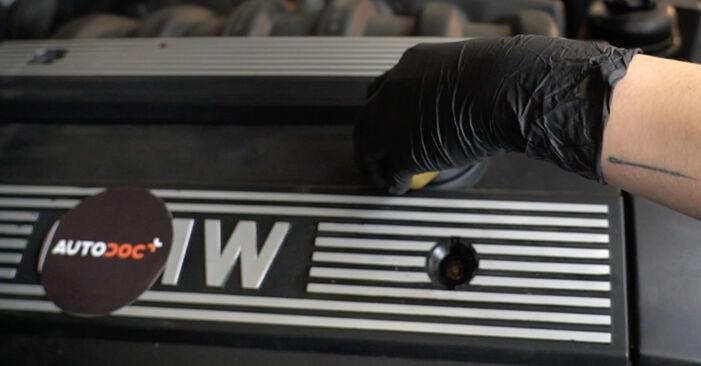 BMW E39 530d 3.0 1992 Ölfilter wechseln: Gratis Reparaturanleitungen