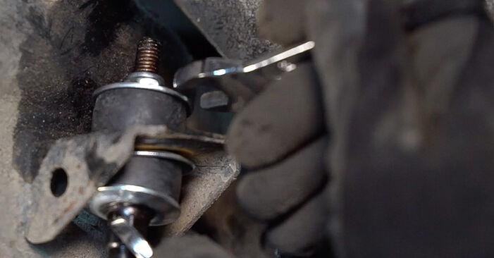 Come cambiare Biellette Barra Stabilizzatrice su Toyota Prado J120 2002 - manuali PDF e video gratuiti