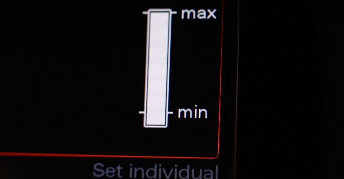 Steg-för-steg-rekommendationer för att byta Audi A4 B8 Sedan 2011 S4 3.0 quattro Oljefilter på egen hand
