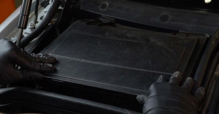 5 Limousine (E39) 525tds 2.5 1997 530d 3.0 Innenraumfilter - Handbuch zum Wechsel und der Reparatur eigenständig