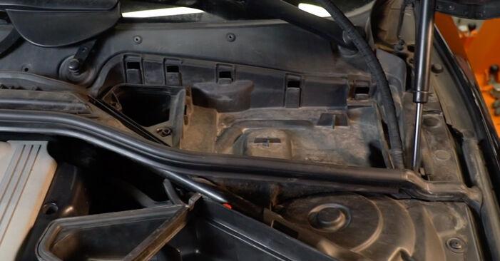 Schritt-für-Schritt-Anleitung zum selbstständigen Wechsel von BMW E60 2004 525d 3.0 Innenraumfilter