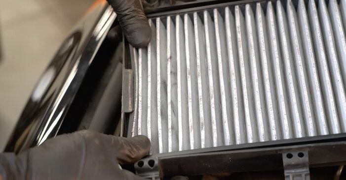 Zweckdienliche Tipps zum Austausch von Innenraumfilter beim BMW 5 Limousine (E60) 520d 2.0 2005