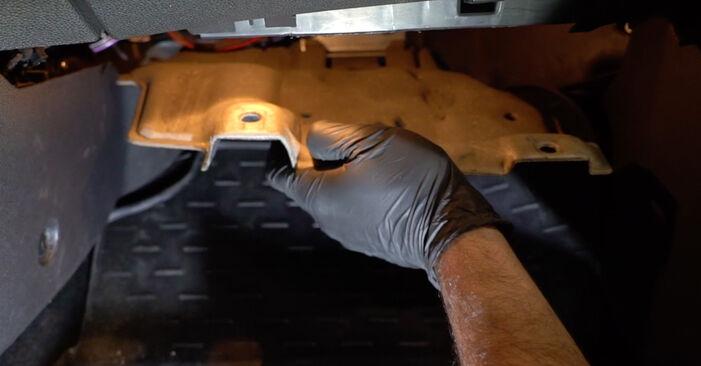 Consigli passo-passo per la sostituzione del fai da te Ford Fiesta ja8 2021 1.4 LPG Filtro Antipolline