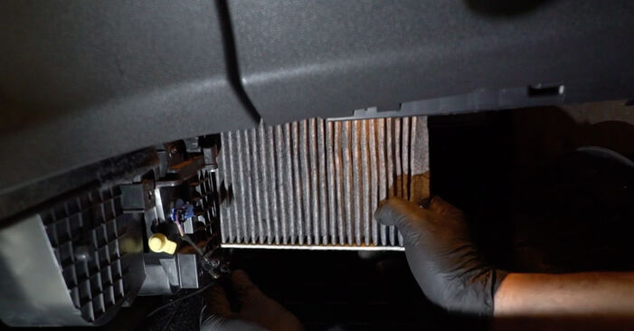 Need to know how to renew Pollen Filter on FORD FIESTA ? This free workshop manual will help you to do it yourself