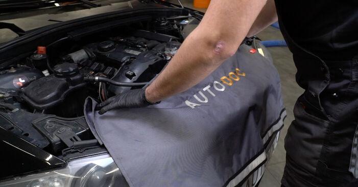 Hoe BMW 1 Coupe (E82) 120d 2.0 2007 Interieurfilter vervangen – stapsgewijze handleidingen en videogidsen