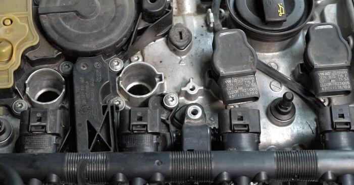 Πώς αλλαγη Μπουζί σε AUDI A4 Sedan (8K2, B8) 2010 - συμβουλές και κόλπα