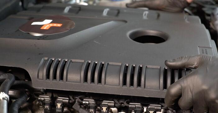 Audi A4 B8 Sedan 1.8 TFSI 2009 Μπουζί αντικατάσταση: δωρεάν εγχειρίδια συνεργείου